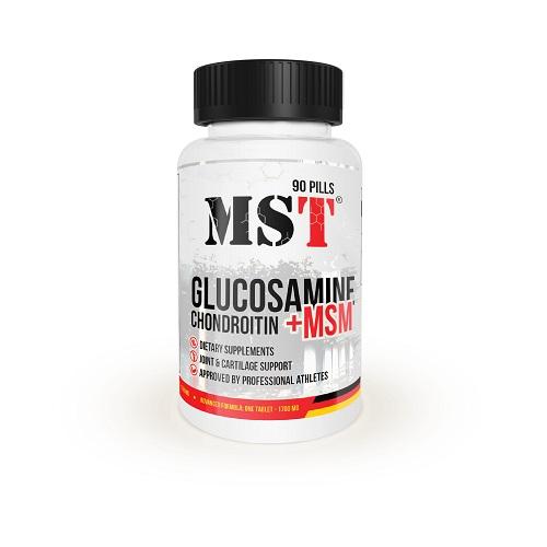 MST Chondroitine - Glucosamine - MSM, 90 капс.