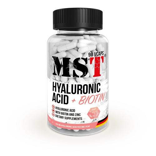 MST Hyaluronic Acid + Biotin, 90 капс.