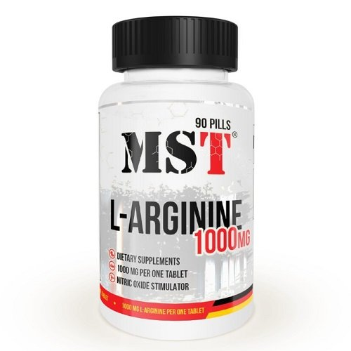 MST L-Arginine 1000, 90 таб.