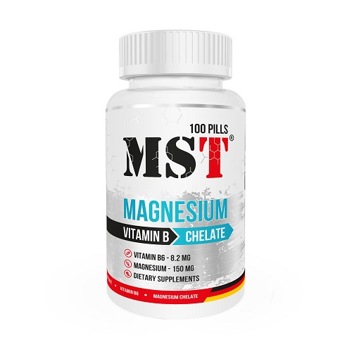 MST Magnesium + B6, 100 таб.