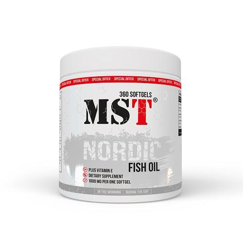 MST Nordic Fish Oil, 360 капс.