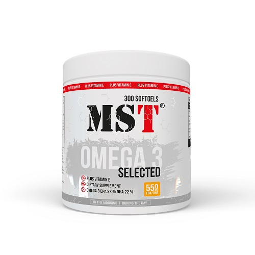 MST Omega 3 Selected, 300 капс.