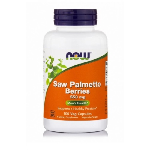 NOW Saw Palmetto berries 550mg, 100 капс.