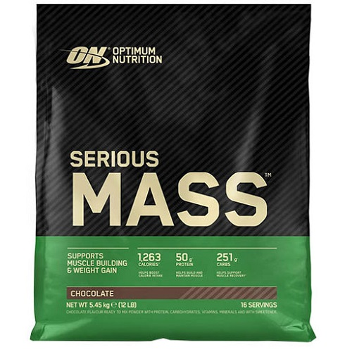 Optimum Nutrition (USA) Serious Mass 5,45 kg